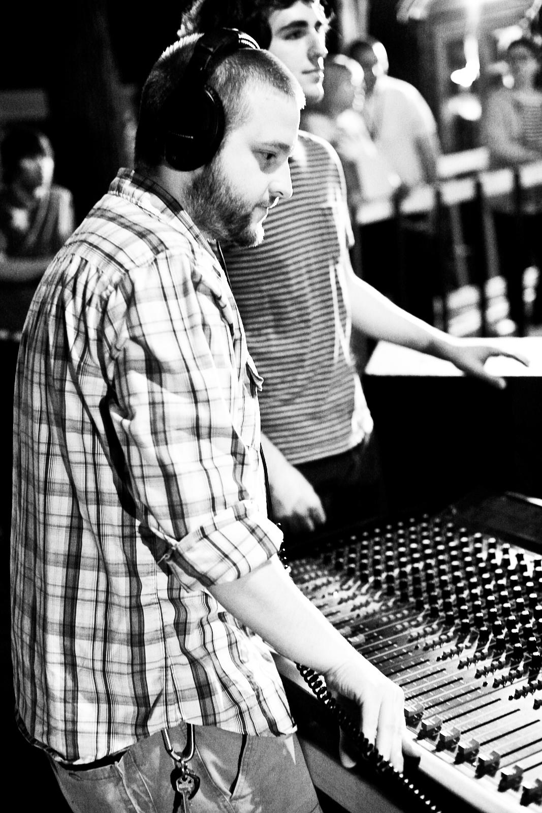 Frank Reber Mixing @ Village Green Records