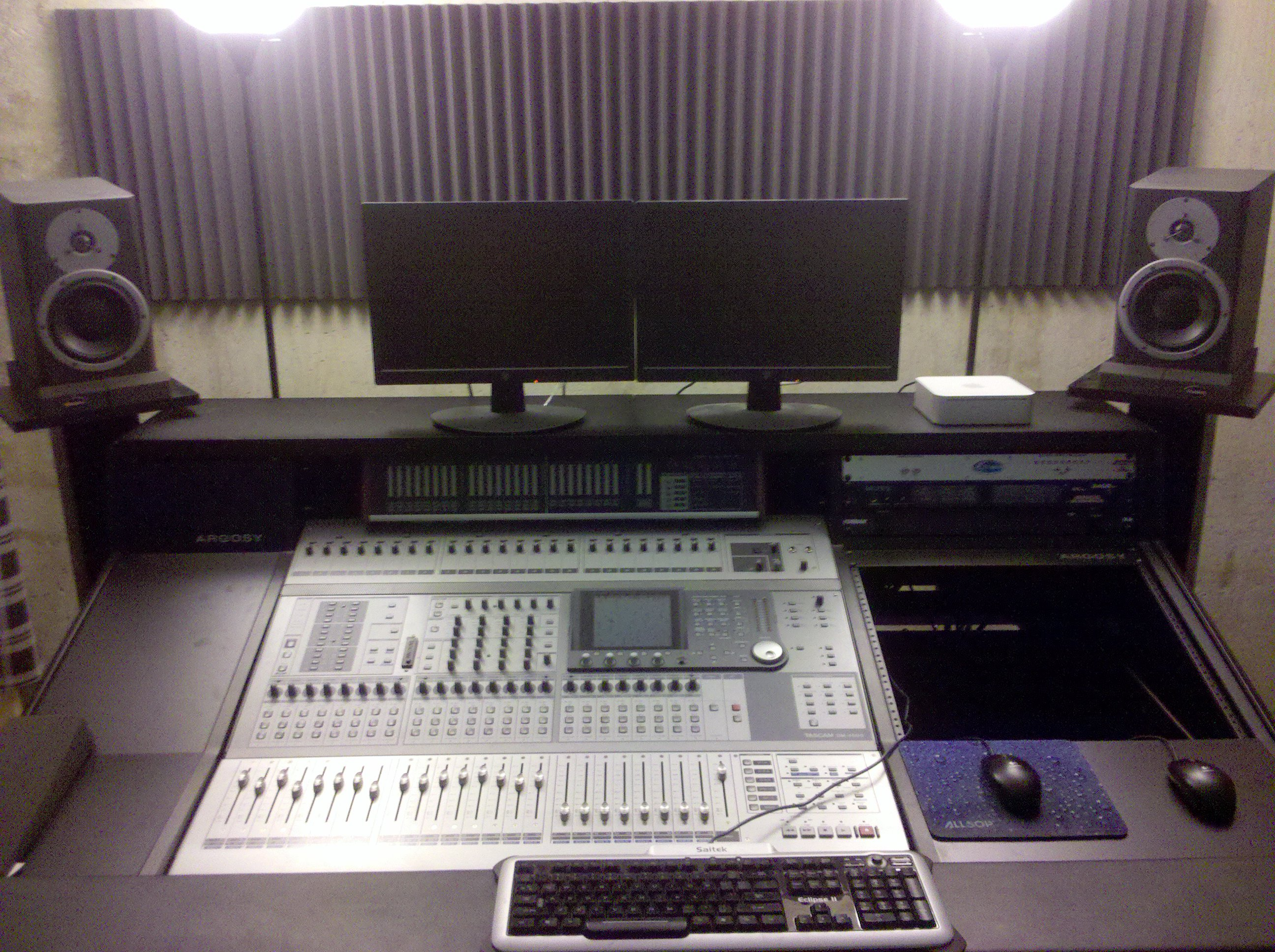 Main Mixing Desk